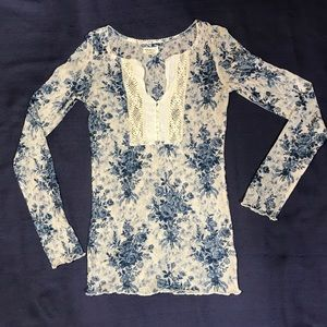Ralph Lauren Lace Top • Size XS